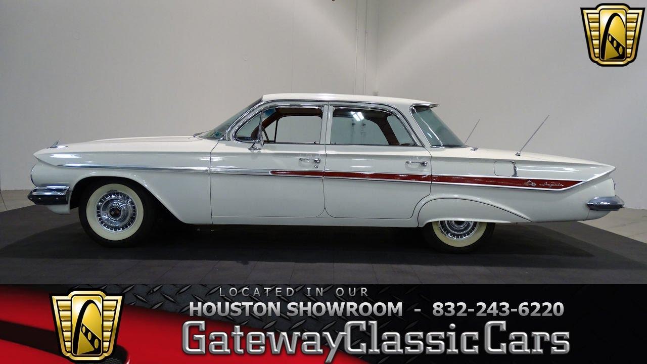 680 HOU 1961 Chevrolet Impala Gateway Classic Cars Houston - YouTube