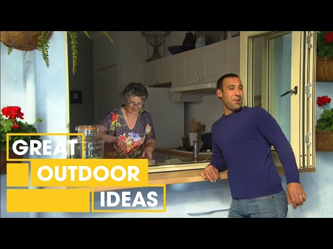 Adam and Jason's Moroccan-style outdoor makeover