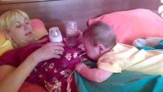 видео 4 месячный ребенок
