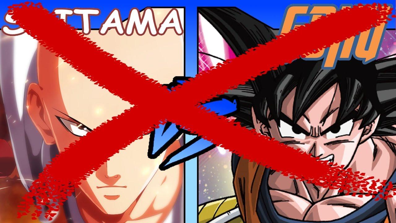 God Goku VS Saitama DEBUNK (Dragon Ball Super VS One Punch Man) - YouTube