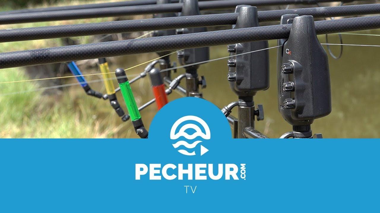 Carpe Pêche Alarme /& Récepteur Jrc Radar Cx Ensemble 3+1 Multi