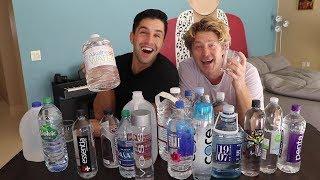 WATER MUKBANG WITH JOSH PECK!!