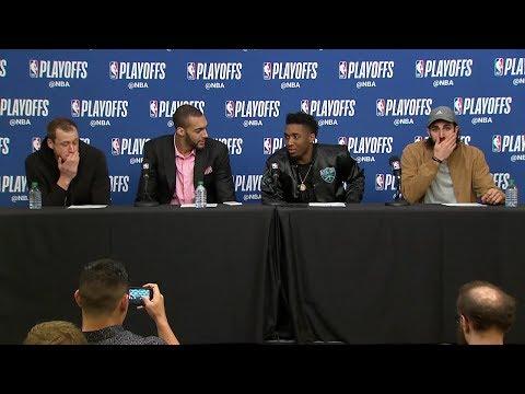 Utah Jazz Postgame Interview   Thunder vs Jazz - Game 4   April 23, 2018   2018 NBA Playoffs
