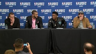 Utah Jazz Postgame Interview | Thunder vs Jazz - Game 4 | April 23, 2018 | 2018 NBA Playoffs