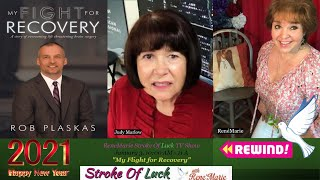 """My Flight for Recovery"" ~ ReneMarie Stroke Of Luck TV Show - January 3, 10:00 AM"