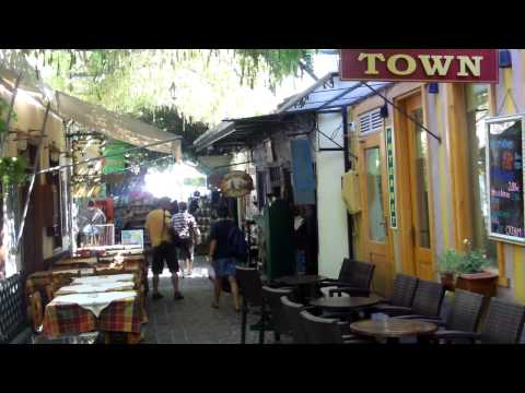 Sights and sounds of Petra, Lesvos, Greece