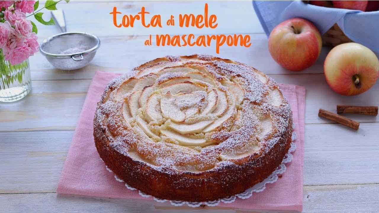 torta di mele al mascarpone ricetta facile fatto in casa