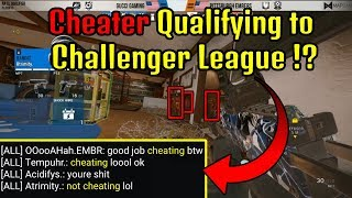 Cheater Qualify to Challenger League !? | Ela Shotgun is OP - Rainbow six siege