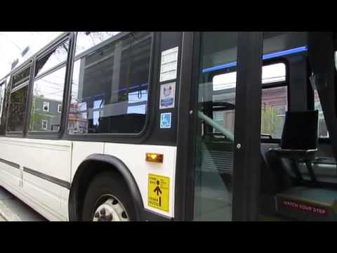 Daniel J Towsey yells at a Halifax Transit bus driver about buses not having tiedowns