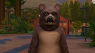 THE LONELY BEAR - Sims 4 Outdoor Retreat Ep 2