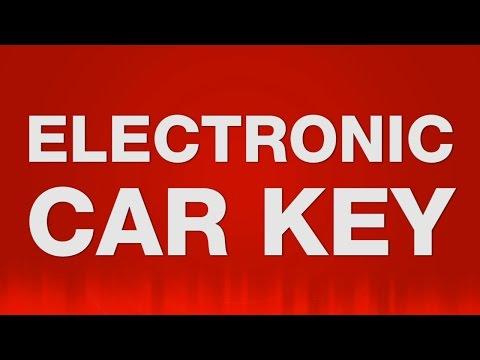 Electronic Car Key SOUND EFFECT - Elektronischer Autoschlüssel SOUNDS