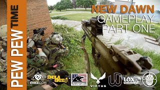 Robo-Airsoft: Pew Pew Time - New Dawn 2: Gameplay Part One - Airsoft Gameplay