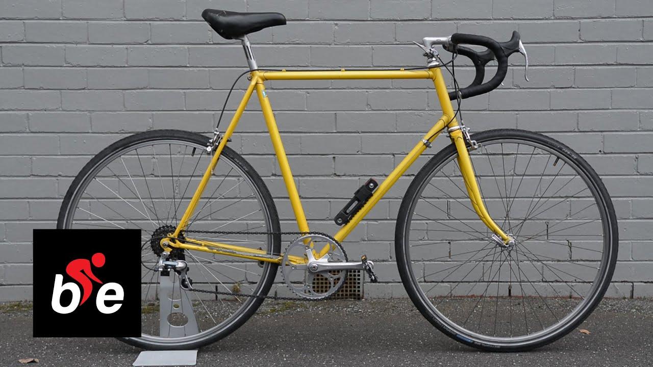 My Bike Malcolm 1980s Nishiki Road Bike Youtube
