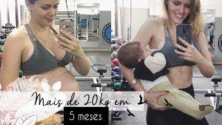 Gambar cover Como emagrecer pós parto: perdi 20kg em 5 meses