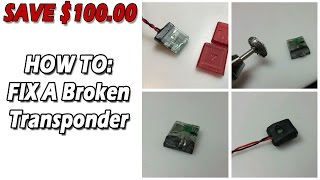 """How To: Fix a Broken """"My Laps"""" RC3 Transponder"""