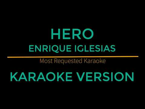Hero - Enrique Iglesias (Karaoke Version)