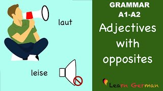 Learn german greetings german for beginners a1 lesson 1 learn german german for daily use 25 adjectives and their opposites a1 m4hsunfo