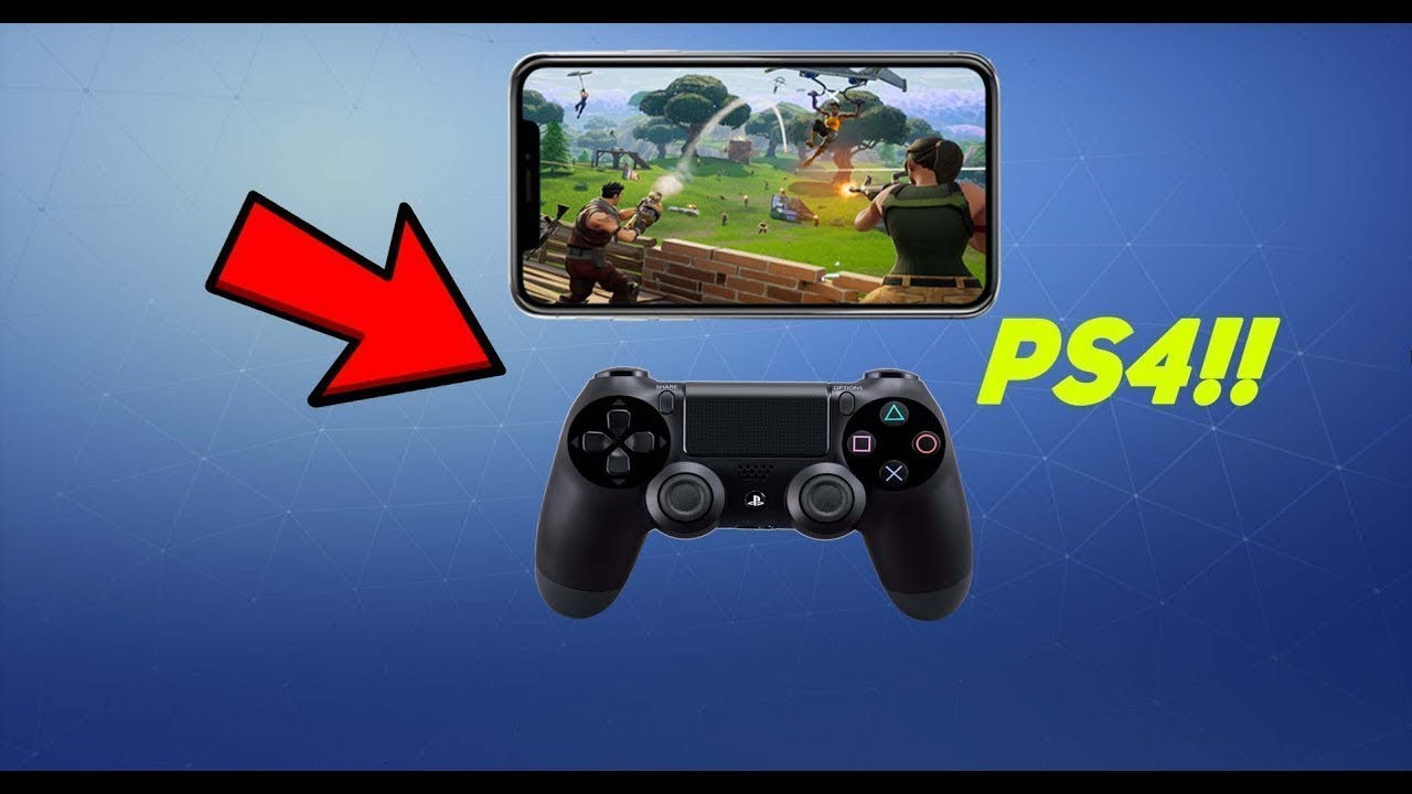 how to bluetooth a ps4 controller to iphone 7