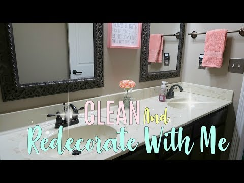 clean-and-redecorate-with-melittle-girls-bathroom-makeover|-cleaning-motivation