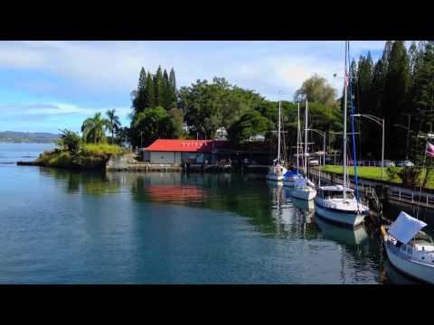 Wailoa Sampan Basin Harbor, Hilo, Hawaii