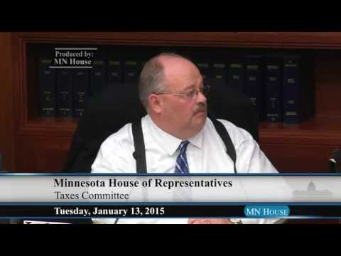 House Taxes Committee  1/13/15