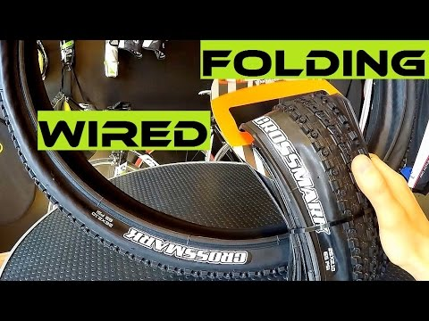 Fat Bike For Sale >> Expensive Folding vs Cheap Wired Bike Tire. Which One To ...