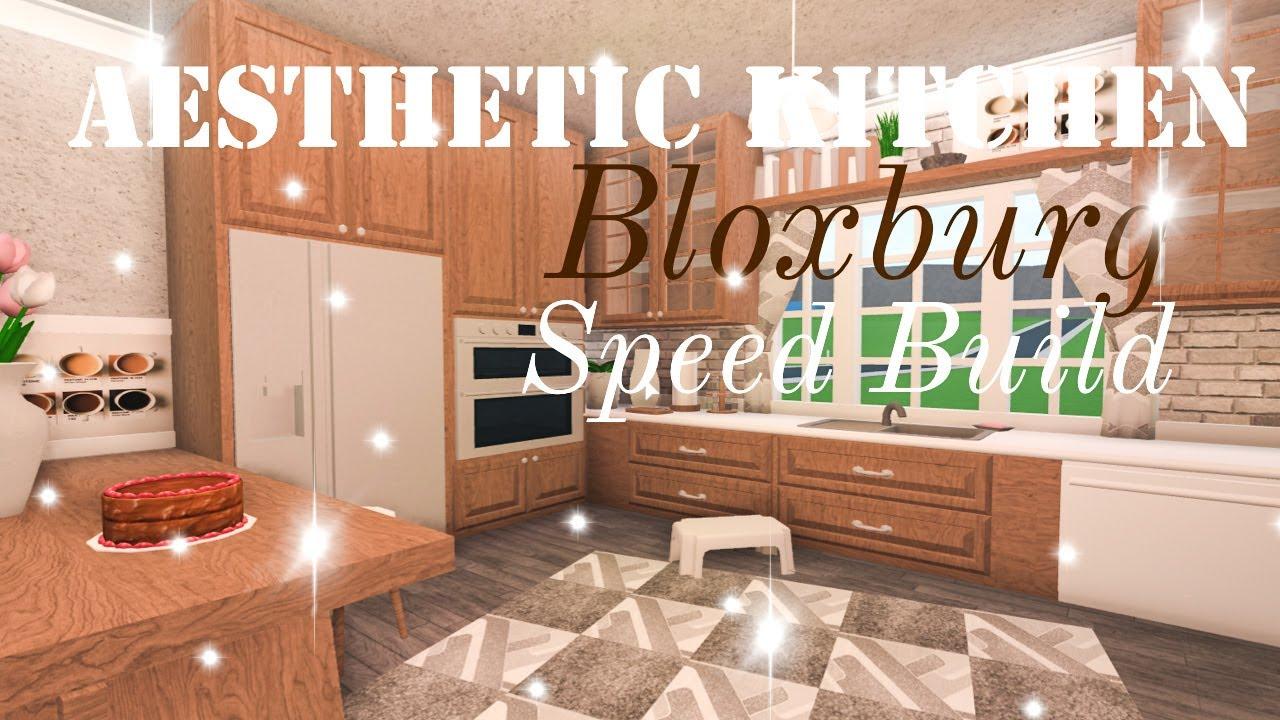 Aesthetic Bloxburg Kitchen Roblox Youtube