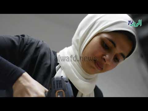 مريم مغربى .. بنت الطبيعة عاشقة الورود  - 16:52-2018 / 9 / 15