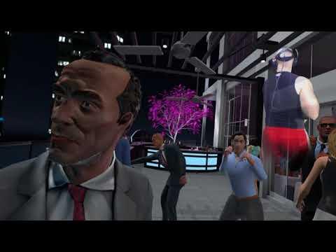 Drunkn Bar Fight HTC Vive VR part 12 | Wedding Reception! | NerdJock Vid 593