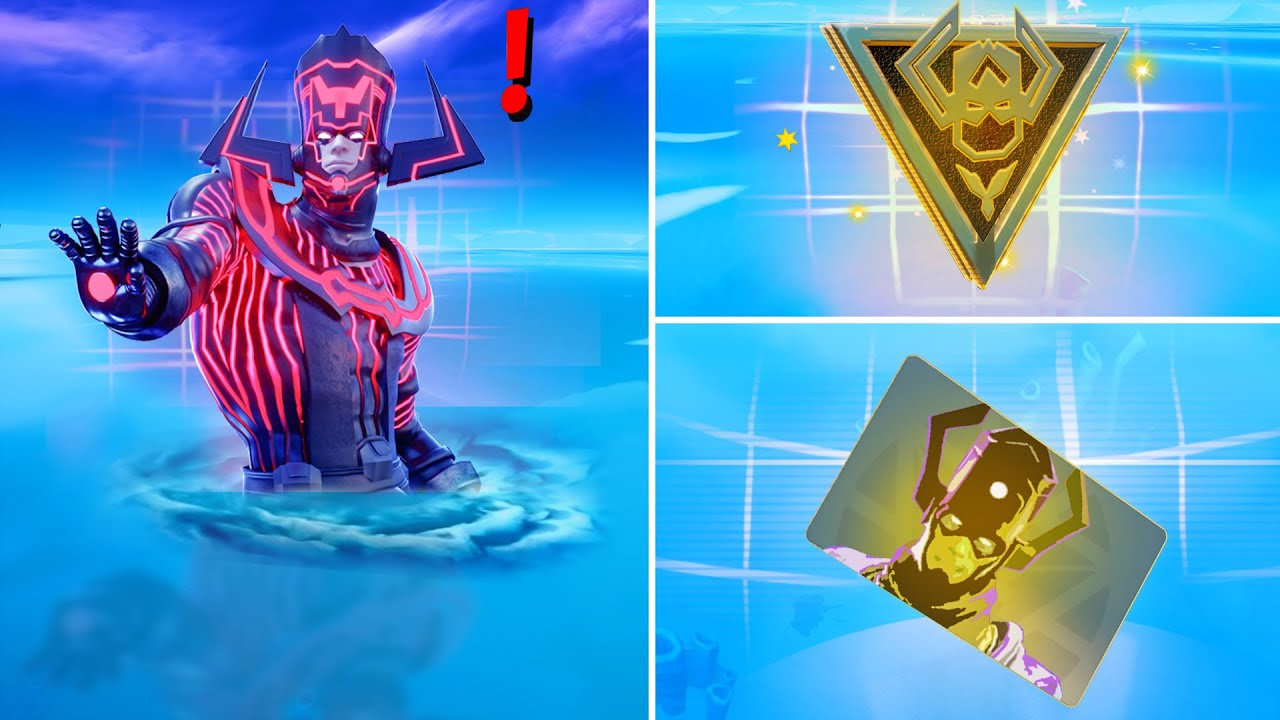 Fortnite All New Bosses, Vault Locations & Mythic Weapons, KeyCard Boss Galactus Live Event