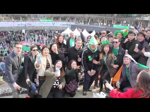 St Patrick's Day comes to Seoul 2015 Mp3