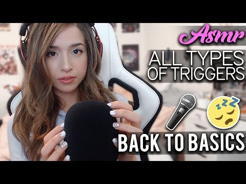 BACK TO BASICS POKI ASMR - Tapping to Brushing to Eating ❤️
