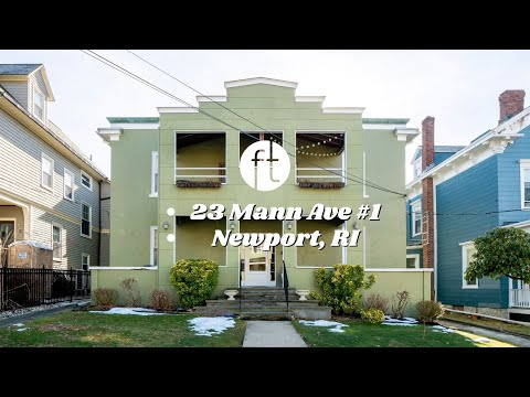 Tour of 23 Mann Ave #1, Newport, RI