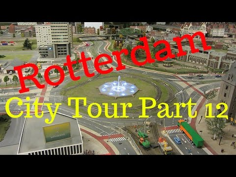 Rotterdam, The Netherlands.. City Tour (Part12/12) Hofplein (4K)