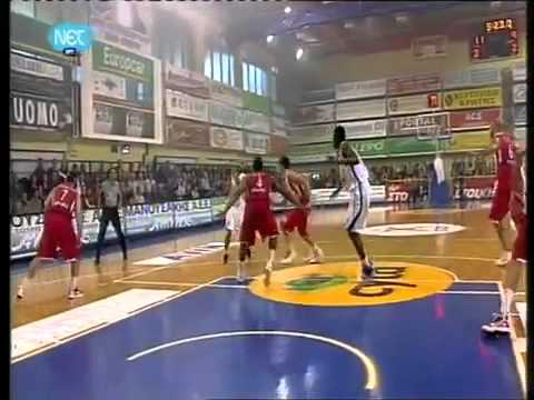TFB::Dunks:: Brent Petway aka Air Georgia with a SICK DUNKFACE in Greece!