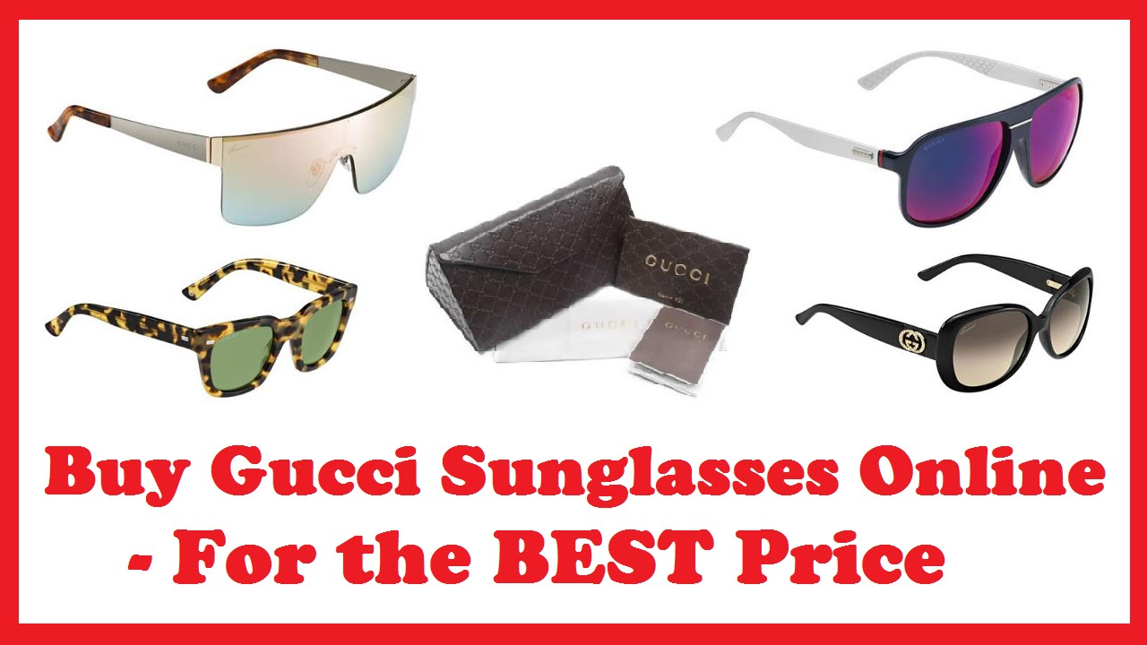 c85a2b1dea9 Buy Gucci Sunglasses Online - For the BEST Price - YouTube