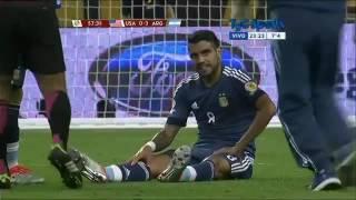 Lesión de Augusto Fernández en Argentina-Estados Unidos