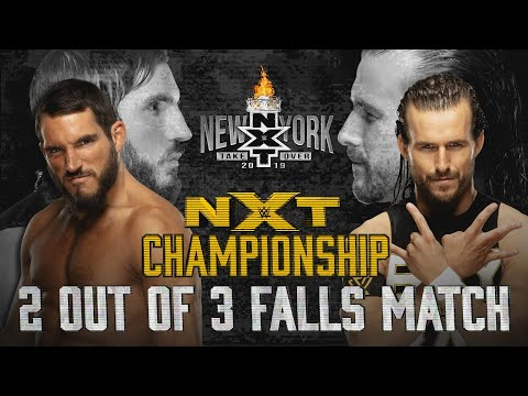 A new NXT Champion will be crowned at TakeOver: New York: WWE NXT, April 3, 2019