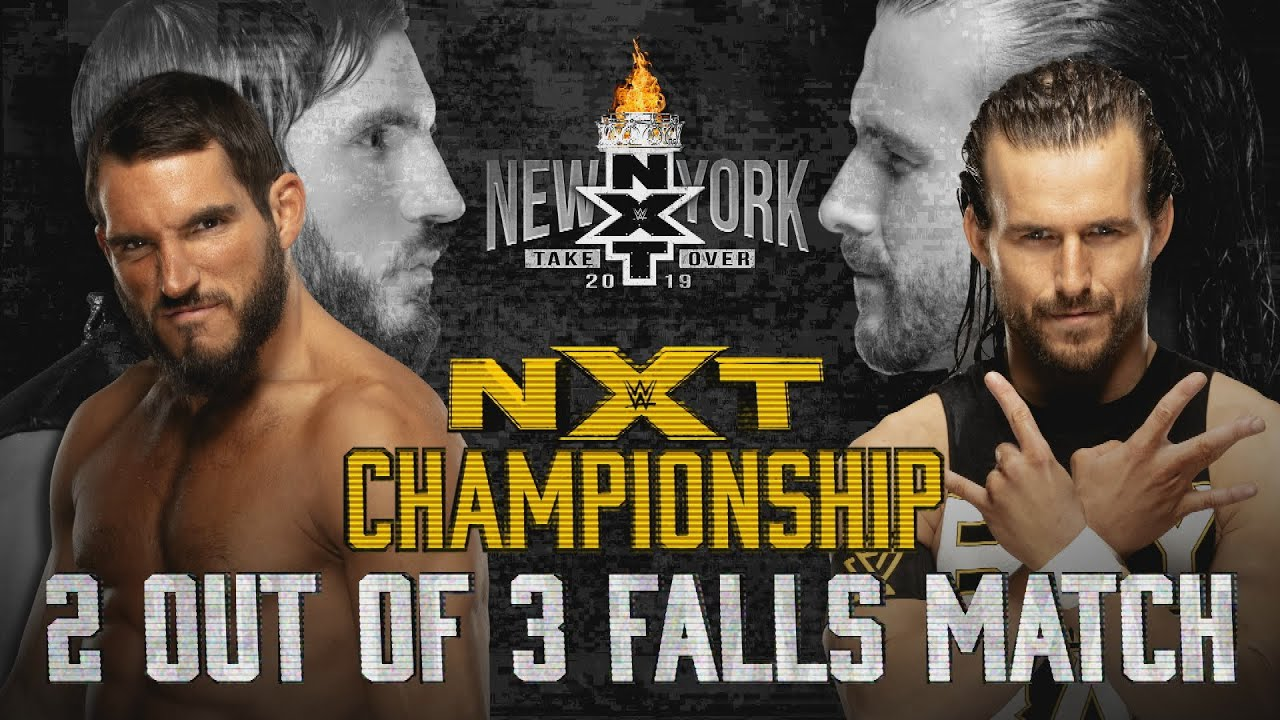 Download A new NXT Champion will be crowned at TakeOver: New York: WWE NXT, April 3, 2019