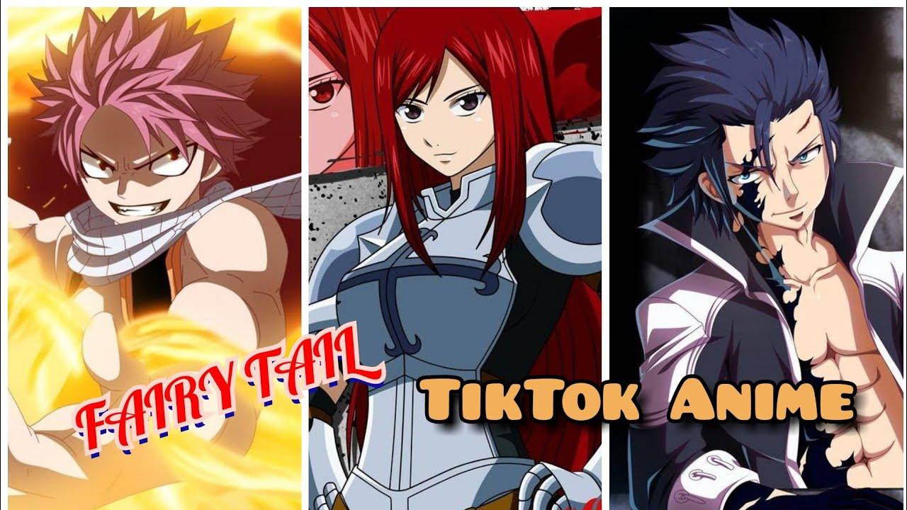 TikTok Anime #30 - Các Cặp Đôi Siêu Dễ Thương Trong Fairy Tail.