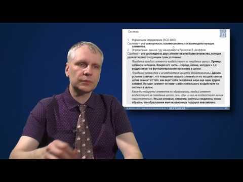 Лекция 1: Бизнес-системы и их свойства