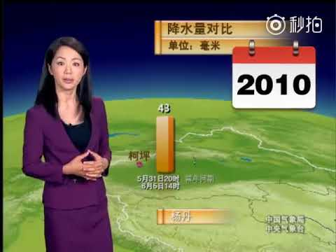 Chinese Weather Woman Not Aging For 22 Years!