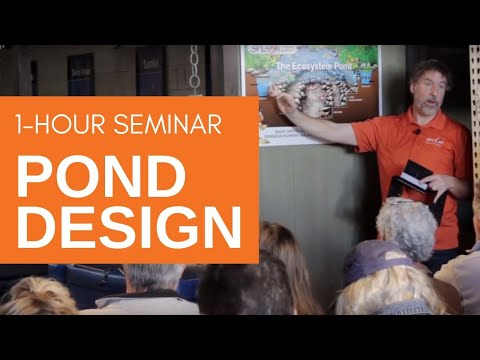 Pond Design & Installation - Coffee With The Pond Guy Seminar Series