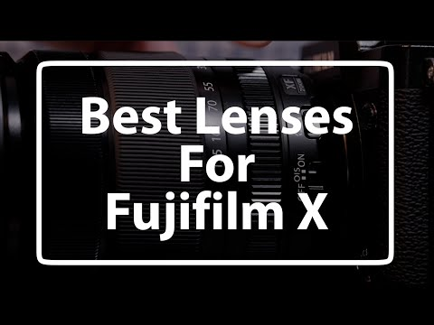 The Best Fujifilm X-mount Lenses (in 4K)