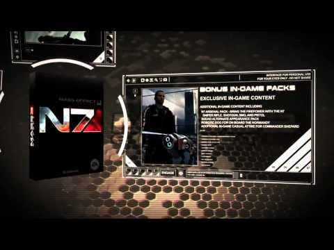 [GameStop] Mass Effect 3 - Collector's Edition Trailer