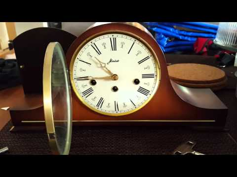 W. Haid Mantel Clock eBay Listing Chime Test