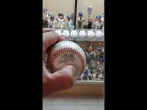 MAURY WILLS BASEBALL FREEBEE