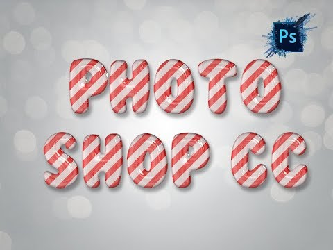 Photoshop Tutorial : 3D Text make by Photoshop CC without plugin