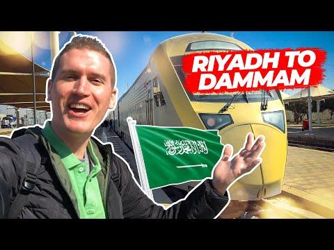 First Impressions From Train Through Saudi Arabia
