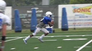 FB: First Live Scrimmage Action Favors Defense